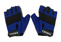 Tima Air Max Gym Gloves for Weight Training, Power-Lifting, Biking, Cycling Workout Gloves Weights Lifting Gloves for Blister and Callus Protection (Large)
