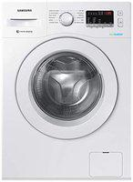Samsung 6.0 Kg Inverter 5 star Fully-Automatic Front Loading Washing Machine (WW61R20EKMW/TL, White, Hygiene steam)