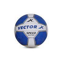 Vector X Speed Volleyball (White-Blue) (18panels)