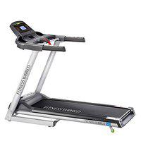 FITNESS WORLD - Motorized Treadmill M2, Health & Fitness Exercise Treadmill, Running Machine for Home with Folding, Easy Assembly, Sturdy, Portable and Space Saving, Black