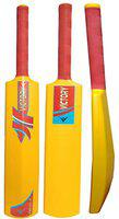 Victory India Best Cricket Bat Thunder (Full Size-6 No) Hard Plastic Bat for All Age Red-1