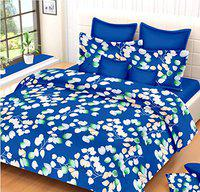 MAFATLAL Superfine Series, Pure Cotton Soft Finish Easy to Wash 220 TC Premium Bedsheets for Double Bed with 2 Pillow Covers, Luxurious Bed Sheet Set (Cadet Blue)