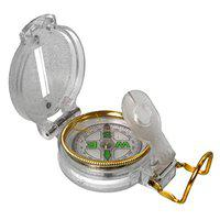 SJ 3-in-1 Military Hiking Camping Lens Lensatic Magnetic Compass ABS White 1 Piece -31 A