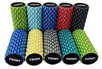 Tima Foam Roller CORE Multi-Density Self Massage,Trigger Point Release,Mobility,Acupressure, Therapy Yoga Gym Physio Injury Foam Roller, Balance Excerciser (Length 13 INCH,Blue) (Multicolor, 13 Inch)