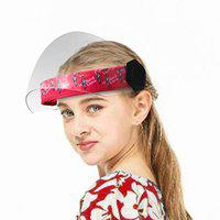 Steelbird YS-99 7Wings Girls Helmet Visor Face Shield With Cartoon Characters Print, Flip-Up Stylish Designer Full Face Protector For All Girls Up To 11 Years ( Pack of 1 )