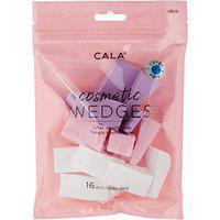 Cala Makeup Beauty Sponge, Makeup Blender Sponges for Full Coverage Powder, Cream, Liquid Foundation Cosmetics, Puff for Powder, Concealer and Foundation Applicator 16 Pieces