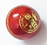 Genuine Leather Cricket Ball 2 Part Durable by Forever Online Shopping