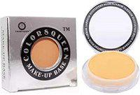 COLORS QUEEN Make-up Base Revitalizing Full Cover With Vitamin-E Foundation (Pink Tones, 3 g)