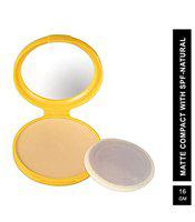 Blue Heaven Matte Effect Compact with Sunscreen, Natural, 16 g