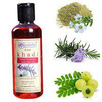 KAHDI RISHIKESH Herbal Rosemary Amla Hair Oil,promotes hair growth,strengthens the hair,prevents hair fall,thinging on regular use,men and women (210)