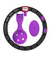 Fitness Guru Non-Dropping Adjustable Hula Hoop for Adults Women - Colour May Vary