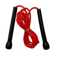 VASUCO Gym Training Skipping Rope Pocket Size Jump Skipping Rope for Men Gym, Women, Weight Loss, Kids, Girls, Children, Adult Best in Sports, Fitness, Exercise, Workout (RED)