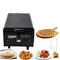 Wellberg Electric Tandoor & Grill Easy to Operate (Black)