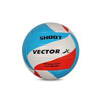 Vector X Shoot Machine Stitched Volleyball (Size-4)