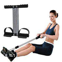 SPOCCO Double Spring Tummy Trimmer/Slimmer Abs Exerciser Equipment Bodybuilding at Home Gym for Men and Women(Random Colour)