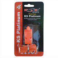 Kitsaws Sports Refree Whistles Platinum (Pack of 12)