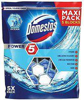 Domestos Power 5 Maxi Pack 5 Blocks Toilet Blocks Ocean