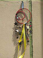 earthenmetal Nursery Mobile Butterfly Chandelier Dream Catcher Room dcor Baby Gift(Stars, Made of Cardstock Paper)