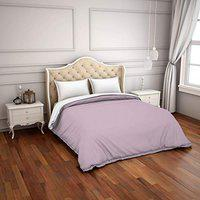 Spaces Hygro Lilac 300 Tc Cotton Double Duvet Cover