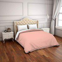 Spaces Hygro Coral 300 Tc Cotton Double Duvet Cover