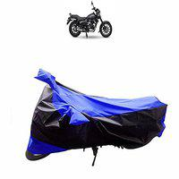 ADROITZ Body Bike Cover in Matty Fabric Red & Black for Bajaj Discover 110_10998