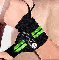 STEIGEN FITNESS 22''Inch Long Weight Lifting Wrist Band for Gym Workout,Gym, Weight Lifting Wrap, Cross fit, Gym Workout