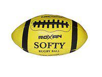 Foricx Roxan Soccer Balls Basketball Rugby Sports Balls for Kids (Soccer Ball, Basketball, Rugby Ball) Indoor Game & Outdoor Game Kids Soft Rugby Ball