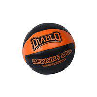 Diablo 3kg Genuine Leather No Bounce Medicine Ball for Fitness Workout
