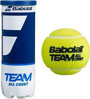 Babolat Team All Court Tennis Ball(Yellow),Pack of 3