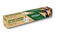 Freshee Greaseproof Paper Nature's Brown Non-Stick Food Paper 20m x 300mm, Multi-Purpose Organic Paper for Baking Food Wrapping