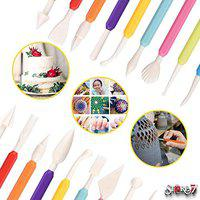 CONNECTWIDE STORE77 9Pcs 18Designs Multipurpose Double-Ended Knife Pen Tool Set for Cake Decoration, ceramic engraving, Pottery Sculpture, Nail Art, Stylus, Candy Kitchen Baking