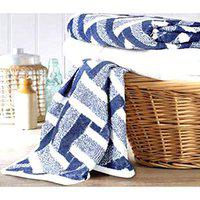 House OF Sensation Soft, Absorbent, Anti-Microbial 500 GSM Jacquard Bath Towel Size 75Cm 150Cm