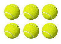 Pack of 6 Genuine Tennis Ball Green by Forever Online Shopping (6)