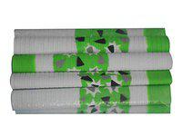 Toyshine Rubber Cricket Bat Grips for Better Shock Absorption, Extra Cushioning for a Soft Touch (Green Grips, Pack of 10) (SSTP)