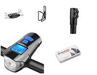 Gubbarey Cycle Accessory Kit Bicycle Items to Upgrade Your Bike : All in One (Economical)