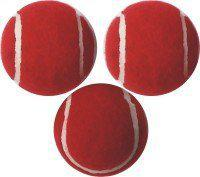 Cricket Tennis Balls Red Set of 3 Balls by Forever Online Shopping (3)
