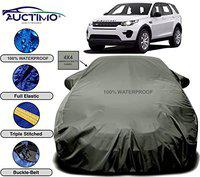 AUCTIMO Reliable Imported 4X4 Quality Fabric Car Cover for Land Rover Discovery Sport with PVC Coating Inside (Green Look)