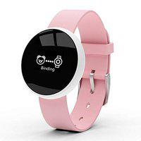 Skmei Women's Smart Watch for iPhone Android - B16 (Pink)