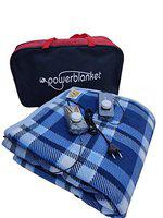 Power Blanket Electric Blanket Double Bed with Automatic Temperature Control (Design 1)