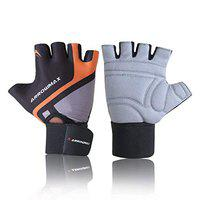 Arrowmax Beast Workout Gloves Men, Gym Gloves with Wrist Support, Padded Weight Lifting Gloves Men for Fitness, Cycling Gloves