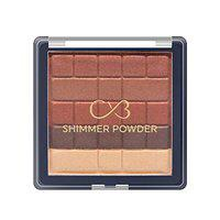 CVB BL102 Shimmer Powder for Skin Radiance, Instant Glow Highlighter for Face Makeup, Sunkissed Glow Multicolour (Shade-01, 10g)