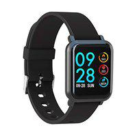 AQFIT W8 Smartwatch IP68 Waterproof Fitness Tracker | 1.33 Inch Full Touch Screen Display | Upto 10 Days Battery Life | 4.2 Bluetooth | for Men and Women(Black)