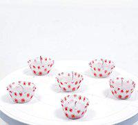 SC White Tealight Candles with Printed Paper Cups, Long Lasting Burning for Home Decor, Table Centerpieces, Birthday Parties, Christmas and Pool (Pack of 12_RKCL05)