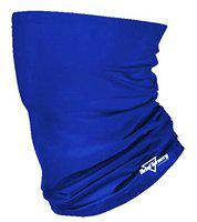 HeadTurners Unisex Neck Gaiter Headband Bandana for Dust & Sun Protection - Face Cover/Scarf for Fishing, Hiking, Cycling & ATV Riding - Breathable Summer Polyester Headwear (Royal Blue, 1 Piece)