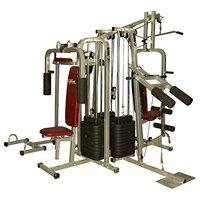 Lifeline Toodlee_140603_6ST3w Other 6 Station Home Gym 3 Weight Lines Others (Multicolor)