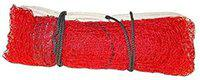 Badminton Net 4 Side Nylon Cotton, Niwar and Tetron Tape (Red) | by Forever Online Shopping