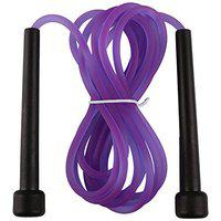 Spinway Jump Rope Skipping Rope for Adult - Best in Fitness, Sports, Exercise, Workout (Pack of 3) (Purple)
