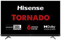 Hisense 139 cm (55 inches) 4K Ultra HD Smart Certified Android LED TV 55A73F (Black) (2020 Model)   With JBL 6 Speaker System