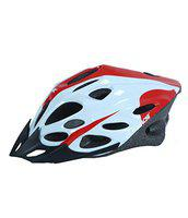 Kamachi Professional Cycling/Skating Adjustable Helmet MV21BHL (Colour: Red/Whitle-6) Size: Small