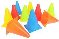 RV Cone Markers, 6 Inch Football Training Agility Cone Marker, Safety Traffic Marker, Soccer Cones, Baseball Practice Agility Markers Cones (6 Inch Pack of 5)